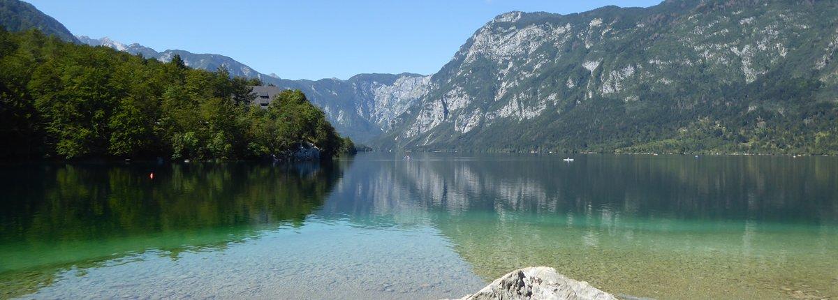 Bohinjsko jezero, Slowenien
