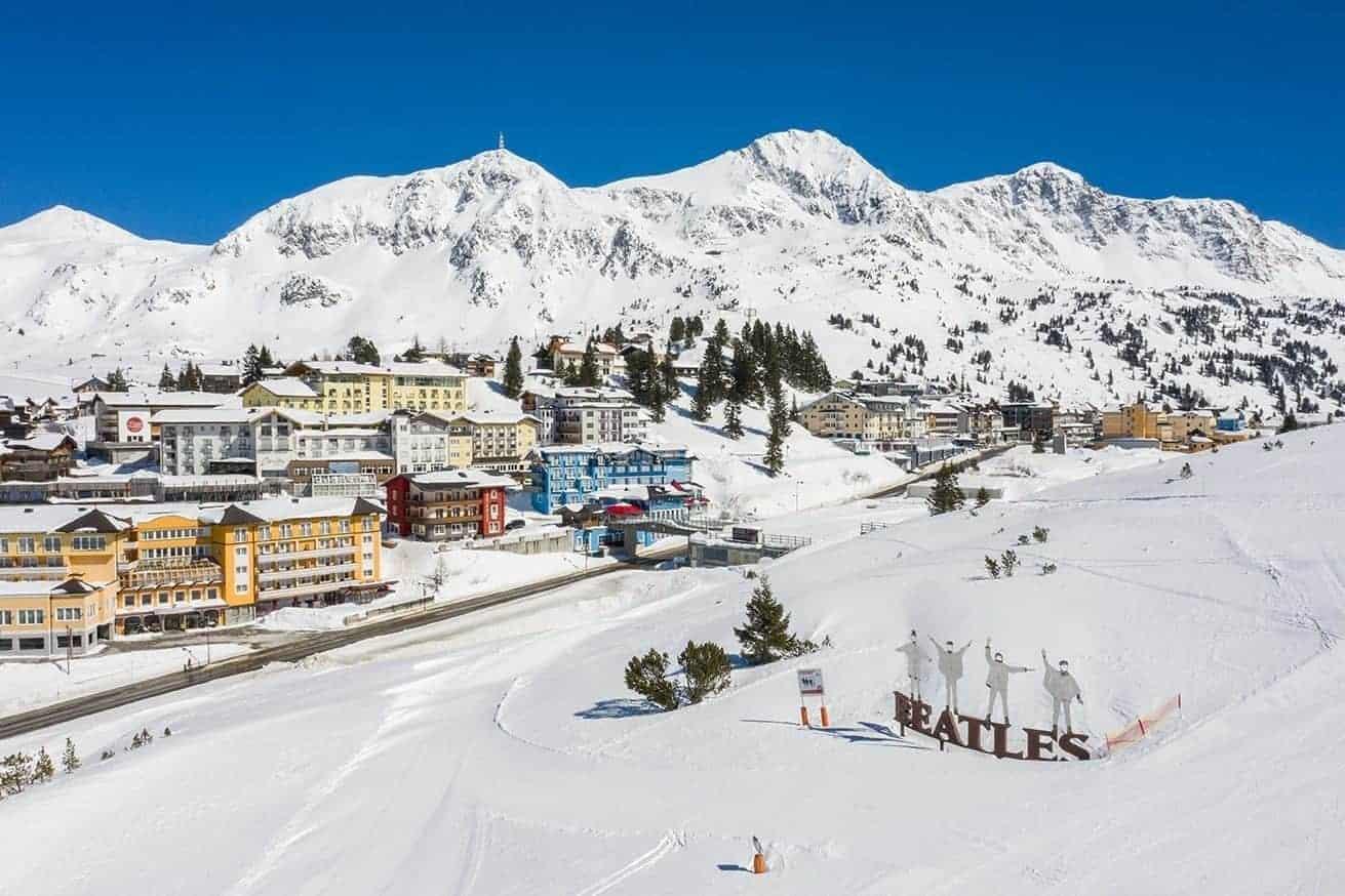 Obertauern im Winter